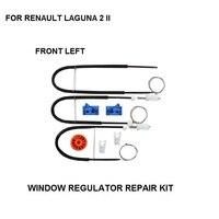 2001-2007 оконный регулятор Ремонтный комплект Ролик для RENAULT LAGUNA II 2 оконный регулятор Ремонтный комплект FORNT-LEFT