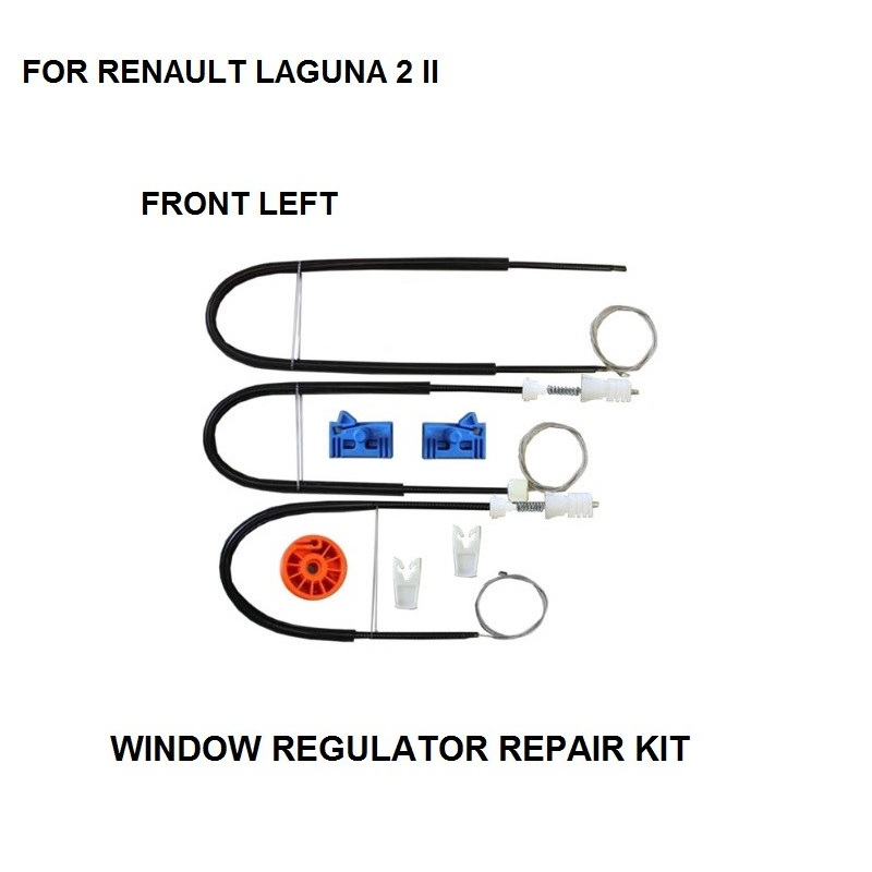 2001-2007 WINDOW REGULATOR REPAIR KIT ROLLER FOR RENAULT LAGUNA II 2 WINDOW REGULATOR REPAIR KIT FORNT-LEFT