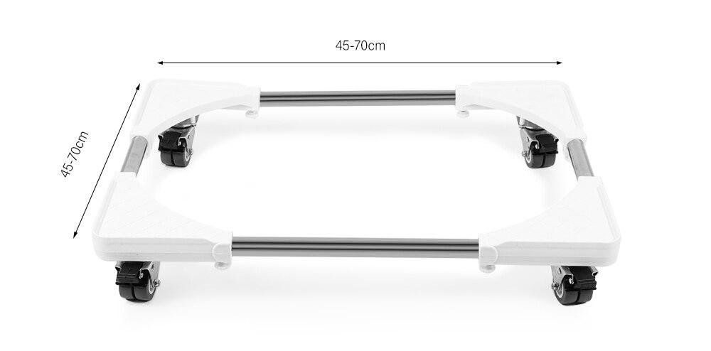 geladeira (4 rodas duplas) branco