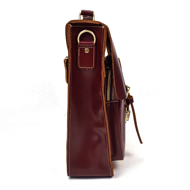 """HTB1IByPDFuWBuNjSszbq6AS7FXaS Vintage Men's Genuine Leather briefcase 16"""" Cowhide Business bag Cow leather Laptop Double Layer messenger bag PC work tote"""