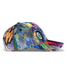 [AETRENDS] 2018 New Fashion Graffiti Design Baseball Cap Men Women Outdoor Sport Snapback Hat Z-6251