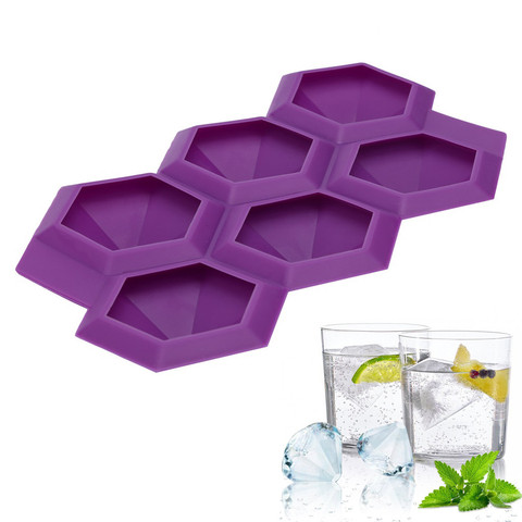 Dropshipping Diamond Shape Ice Cube Maker Ice Tray Ice Cube Mold Storage Containers Pakistan
