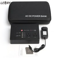 LEORY New Double Penetration 146Wh 39600mAh Portable Laptop USB Power Bank Outlet Supply Solar Generator DC
