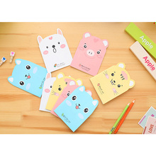 1pcs/lot Kawaii Pig shape Paper Stationery Diary Mini Notepad Planner Weekly Book Travel School Supplies