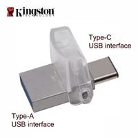 Kingston OTG флэш-памяти USB 3.0 64 ГБ флеш-накопитель Многофункциональный флешки Портативный хранения usb stick memorias