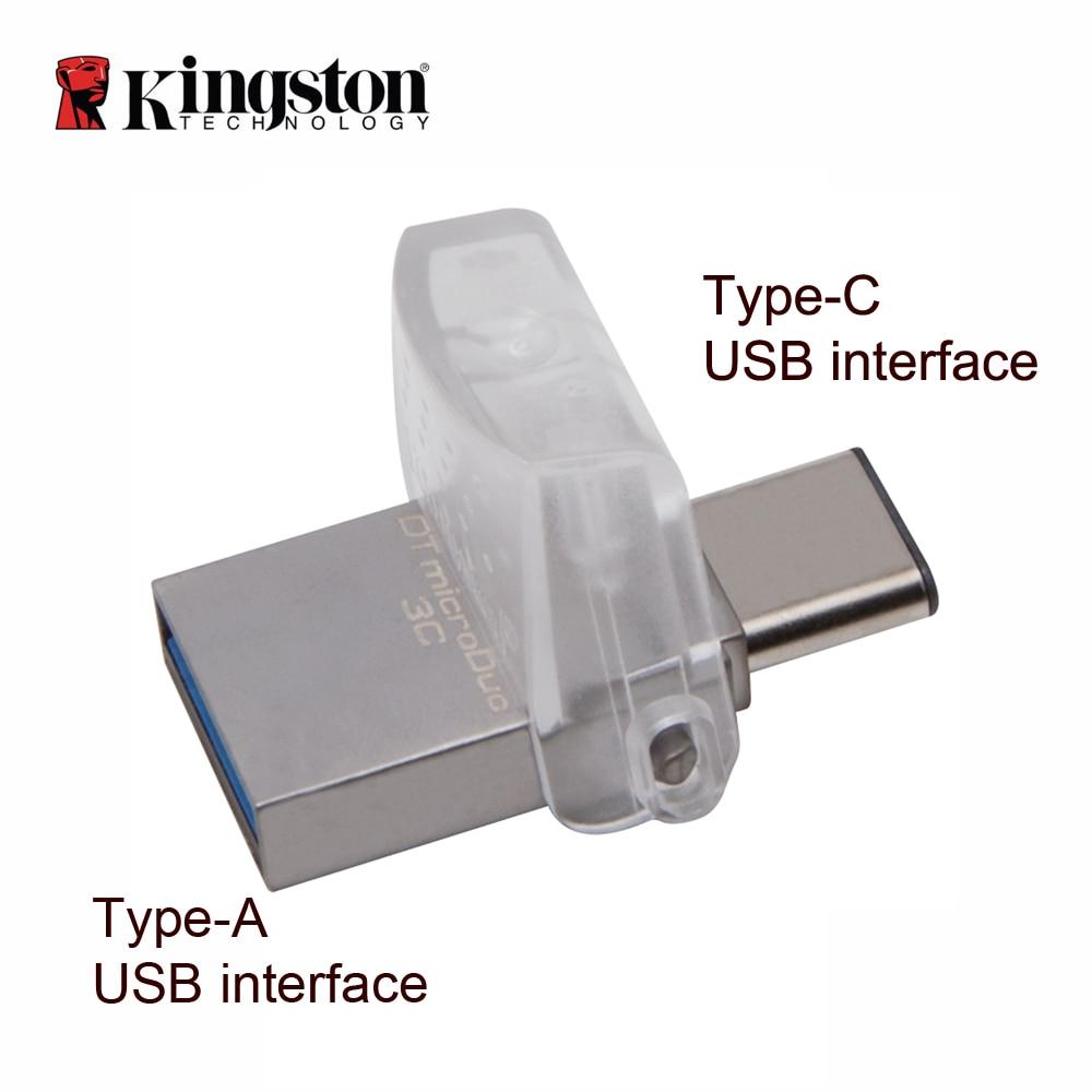 Kingston otg flash memory usb 3.0 64gb flash drive multifunctional  pendrive Portable Storage USB Stick memorias