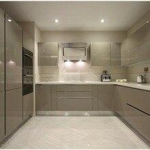 Классический кухонный блок, новая кухонная мебель от производителя, глянцевые лаковые модульные кухонные шкафы