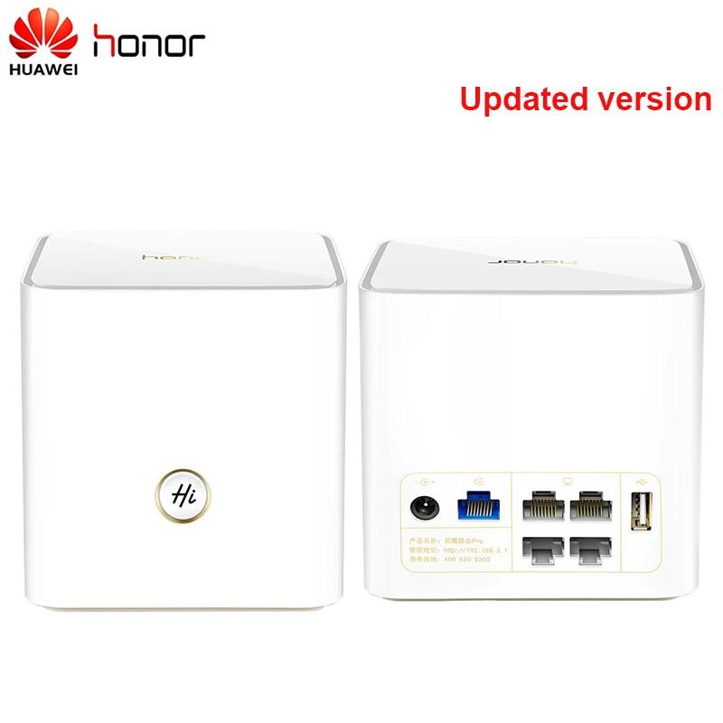 HUAWEI Honor Pro WS851 routeur sans fil intelligent 2.4 GHz + 5 GHz WiFi AC1200M double Gigabit double coeur 1 GB 4 Ports usage domestique Support IPv6