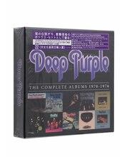 Deep Purple-полный альбом 1976-1970 [CD новый] 10CD Музыка CD Box Set Коллекция Бесплатная доставка
