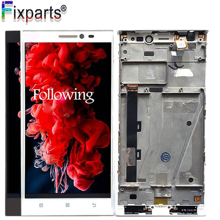 5 5 quot For Lenovo Vibe Z2 LCD Display Touch Screen Assembly With Frame For Lenovo K920 mini Display LCD Replacement Parts in Mobile Phone LCD Screens from Cellphones amp Telecommunications