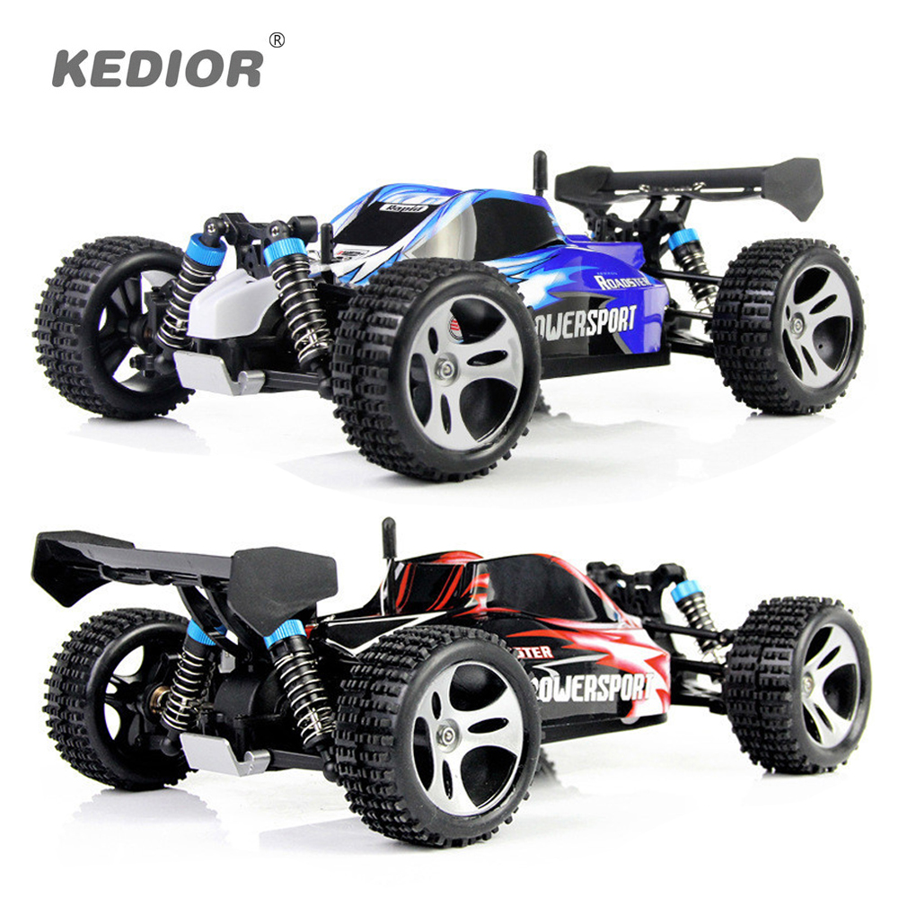 WLtoys A959 Electric Rc Car Nitro 1/18 2.4Ghz 4WD Remote Control Car High Speed Off Road Racing Car Rc Monster Truck For Kids двигатель super tigre 18 nitro купить