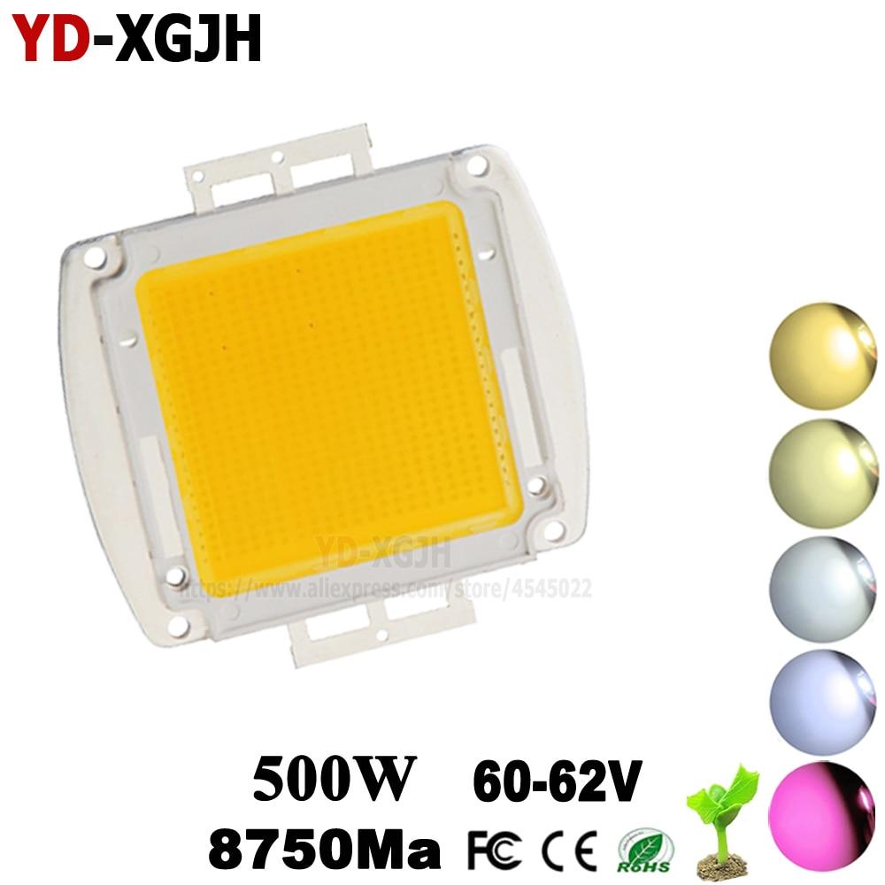1PCS 500W High Power LED Chip Natural Cool Warm White SMD LED COB Bulb Light Full Specturm 380-840nm 150 200 300 500 W Watt