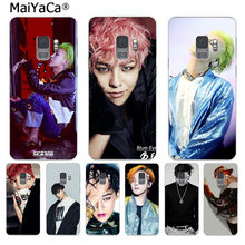 MaiYaCa G-DRAGON BIGBANG GD كوون جي يونغ جراب هاتف ملون لسامسونج S9 S9 plus S5 S6 S6edge S6plus S7 S7edge S8 S8plus(China)