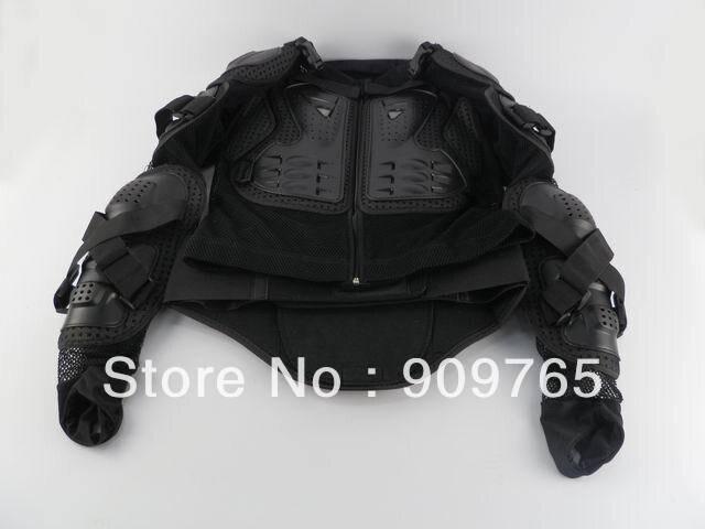1 pcs noir adulte armure corporelle veste moto garde poitrine protecteur moto accessoires pièces - 4