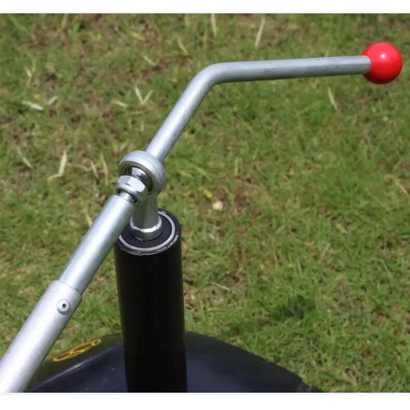 MAICCA футбольный тренировочный профессиональный футбольный тренировочный мяч контроль помощь при стрельбе стальной набор вращающееся оборудование для упражнений - 5