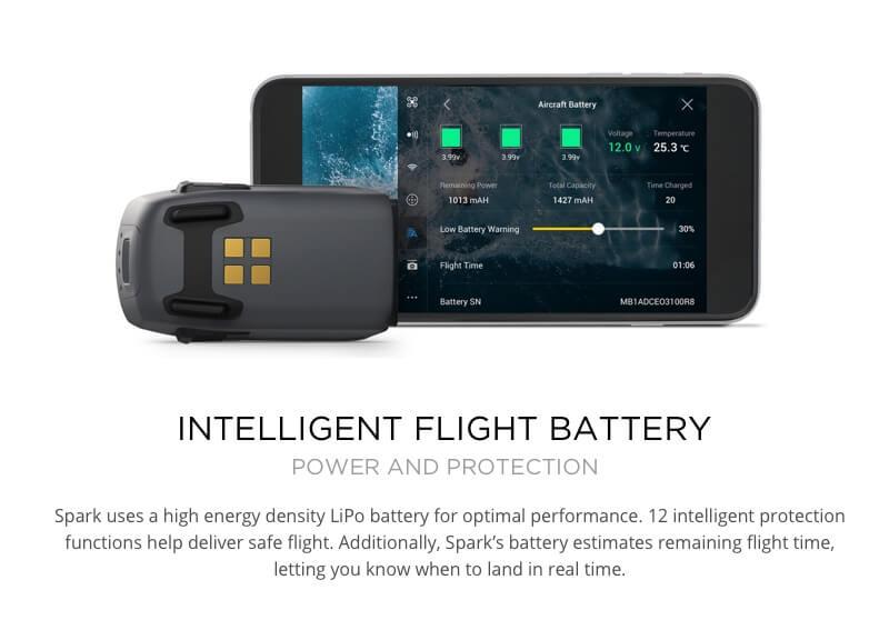 DJI Spark Fly More Combo New Mini Portable Drone