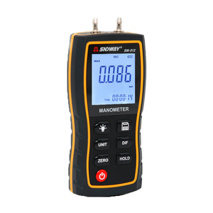 Image 3 - SW512B manometro digitale SNDWAY manometro digitale misuratore di pressione del Gas naturale differenziale digitale portatile Dropship