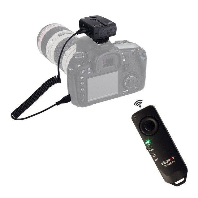 US $14 94 |Viltrox JY 120 C1 Remote Shutter Release JY 120 C1 for CANON EOS  1100D 1000D 650D 600D 60D-in Shutter Release from Consumer Electronics on