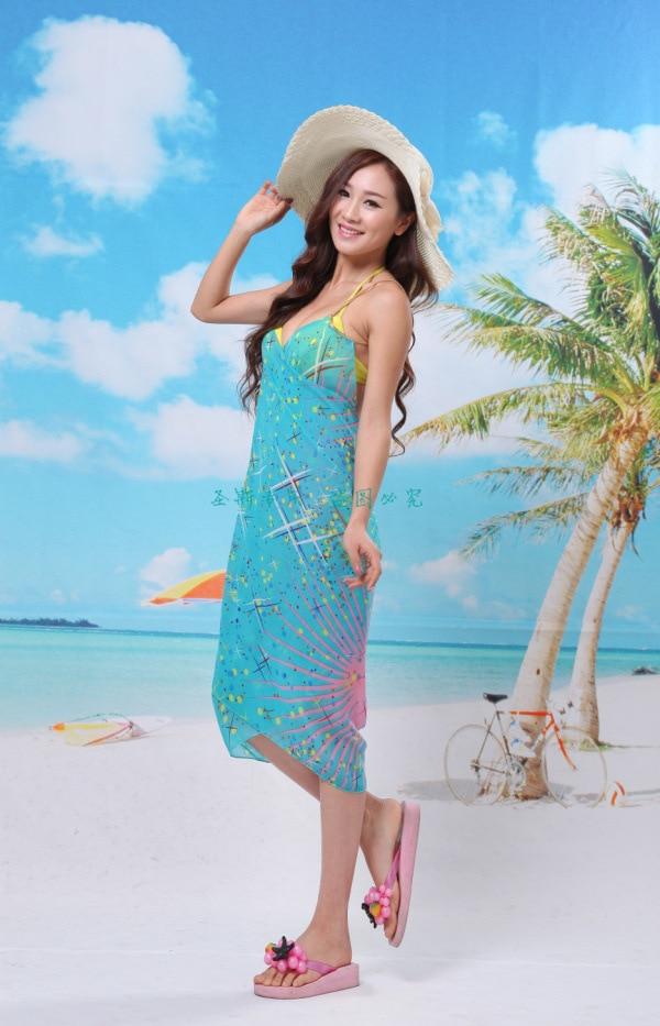 b78843dc26 2015 new fashion fireworks ladies beach towel Beach Dress Beach Wear Beach  Cover Up Summer style scarf summer dress
