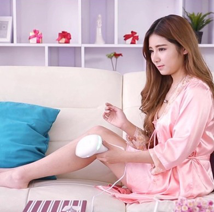 New IPL 3 Lamp Facial Scanning Body Legs Laser Hair Remover for Painless Epilator
