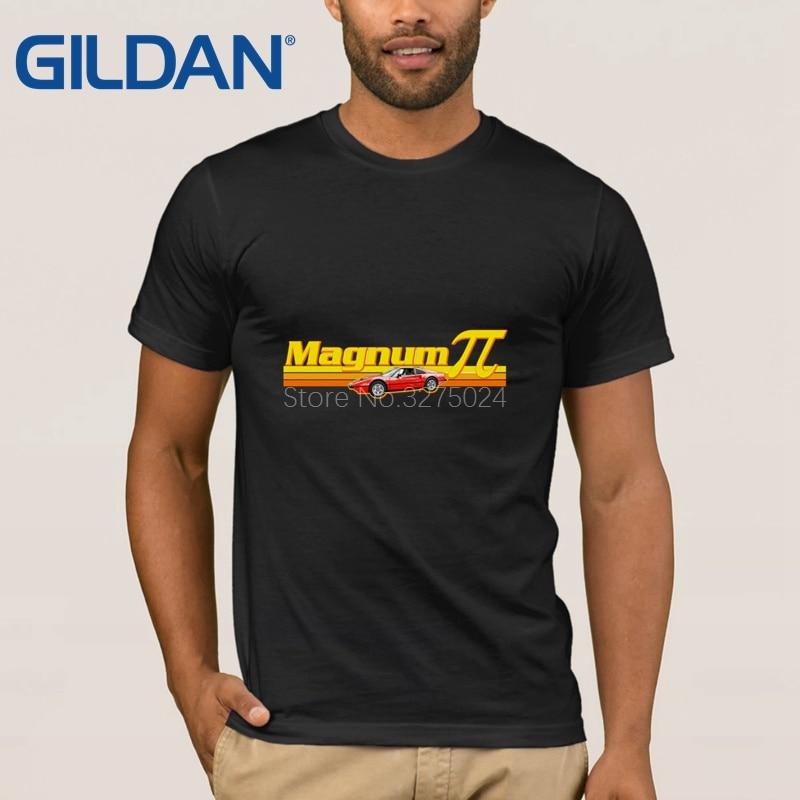 e040fe922 Gildan Designs Fitness Pi T Shirt For Men Magnum Pi T-Shirt For Men Unique  Solid Color Tee Shirt Fitness Fit