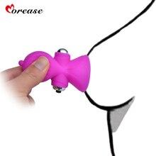 Morease Single Speed Nipple Massager Breast Vibrator Waterproof Vibrating Beads Stimulator Women font b Sex b