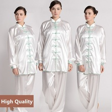 Female Tai chi clothing embroidery wushu clothes graded Taijiquan practice costumes martial arts suit Kungfu uniforms цена 2017