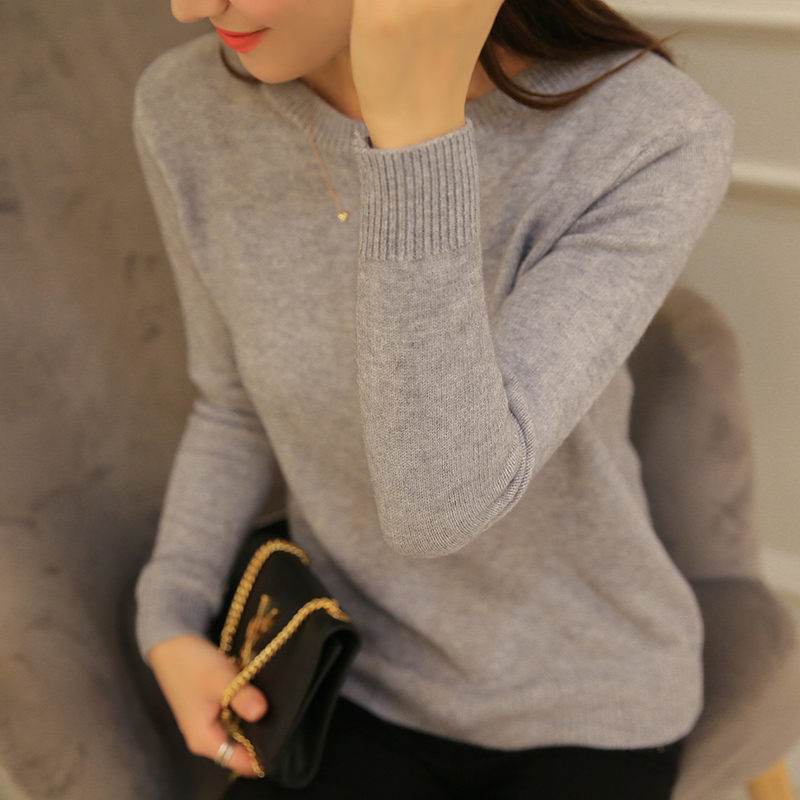 New Long Sleeve Autumn Sweater Women Pullover Knitted Elasticity Casual  Ladies Jumpers Fashion Korean Sweater Female Winter Tops fcd4904d7