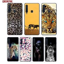 Black Silicon Phone Case Cheetah leopard Jaguar Fashion For Samsung A6S A8S A6 A7 A8 A9 A5 A3 Star Plus 2018 2017 2016 Cover
