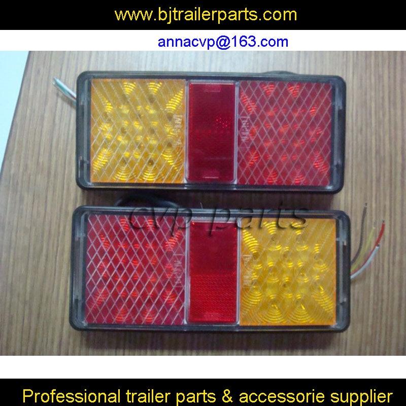 ADR と E4 承認 10 30 V LED トレーラーライトランプ水中トラックボート TRALER 部品 (2 個 /1 ペア) 防水トレーラー部品  グループ上の 自動車 &バイク からの RV パーツ & アクセサリー の中 1