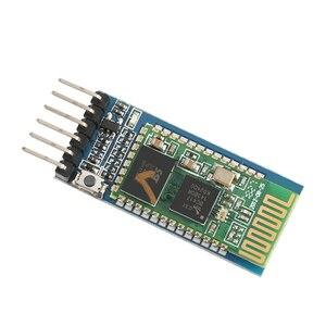 Image 5 - 50 قطعة/الوحدة HC05 HC 05 ماستر الرقيق 6pin JY MCU مكافحة عكس المتكاملة بلوتوث المسلسل تمرير من خلال وحدة لاسلكية المسلسل