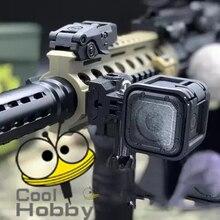 PB игривый мешок гель wel wate бомба пистолет 3d печать движения камера Gopro4 5 поддержка для Jingming M4 шрам MKM2