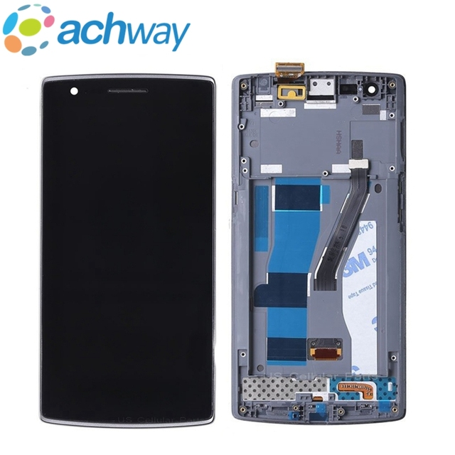 "For 5.5"" Oneplus 1 LCD Display Touch Screen Digitizer Assembly For Oneplus One A0001 Oneplus 1 LCD Display Screen Replacement"
