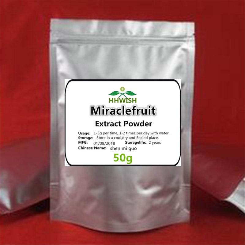 50g-1000g 100% Pure Miracle Fruit Extract,Mystical Fruit,Fruit Of Dream,synsepalum Dulcificum,shen Mi Guo, Free Shipping