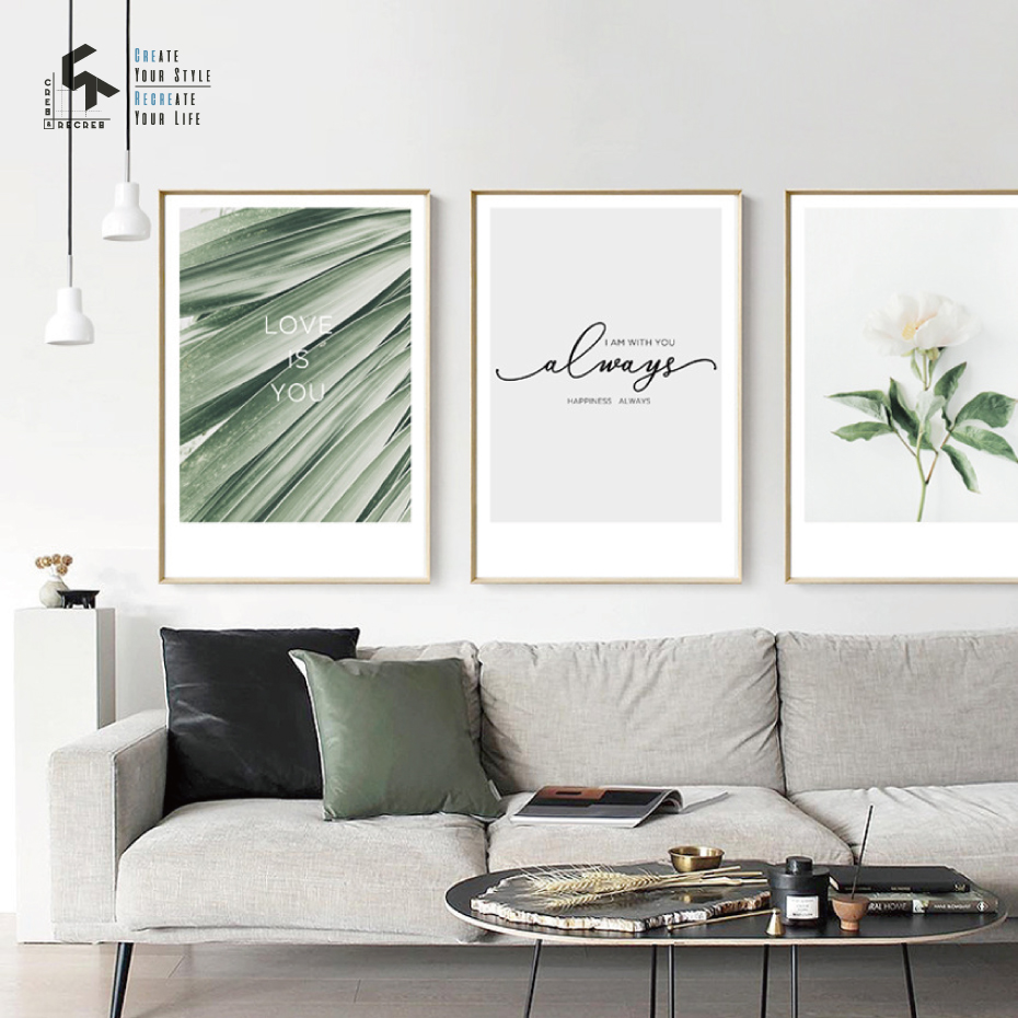 CREATE, Posters, Home, Flower, Nordic, And