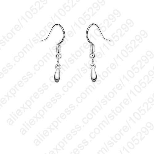JEXXI Newest 925 Jewellery Findings 925 Sterling Silver Jewelry Pinch Ear Wire French Earring Hooks Components For Earrings