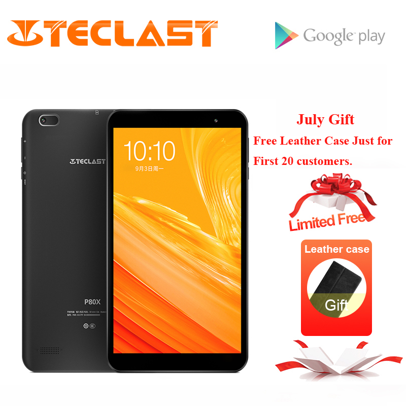 US $84 99 20% OFF|Teclast P80X 8inch 4G Tablet Android 9 0 SC9863A IMG  GX6250 Octa Core 1 6GHz 2GB RAM 16GB ROM Dual Cameras Tablet+Leather  Case-in