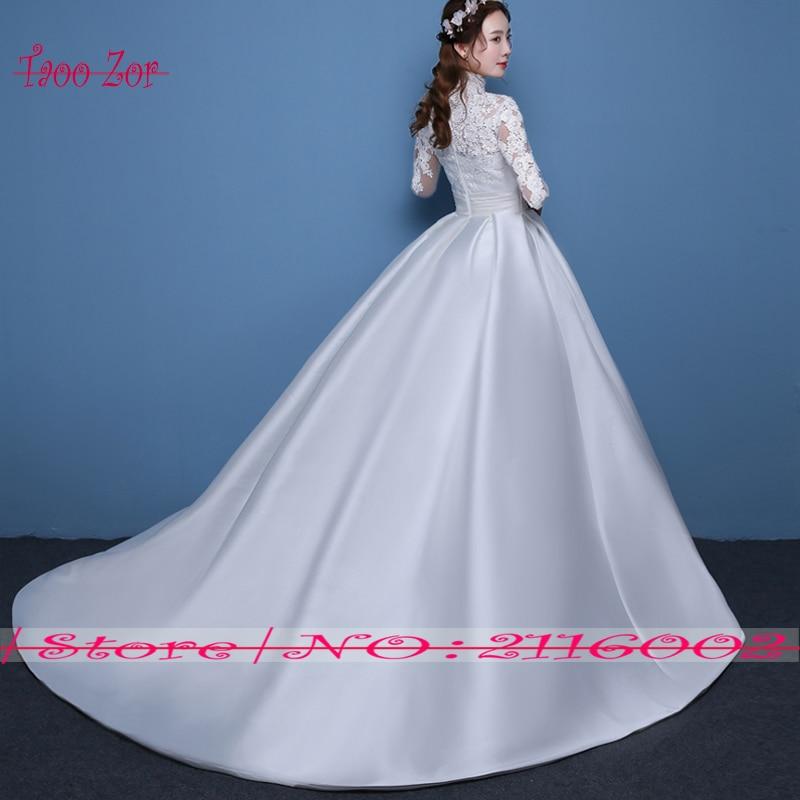 Taoo ZorVintage Satin A Line Wedding Dresses 2017 Turkey Chi ...