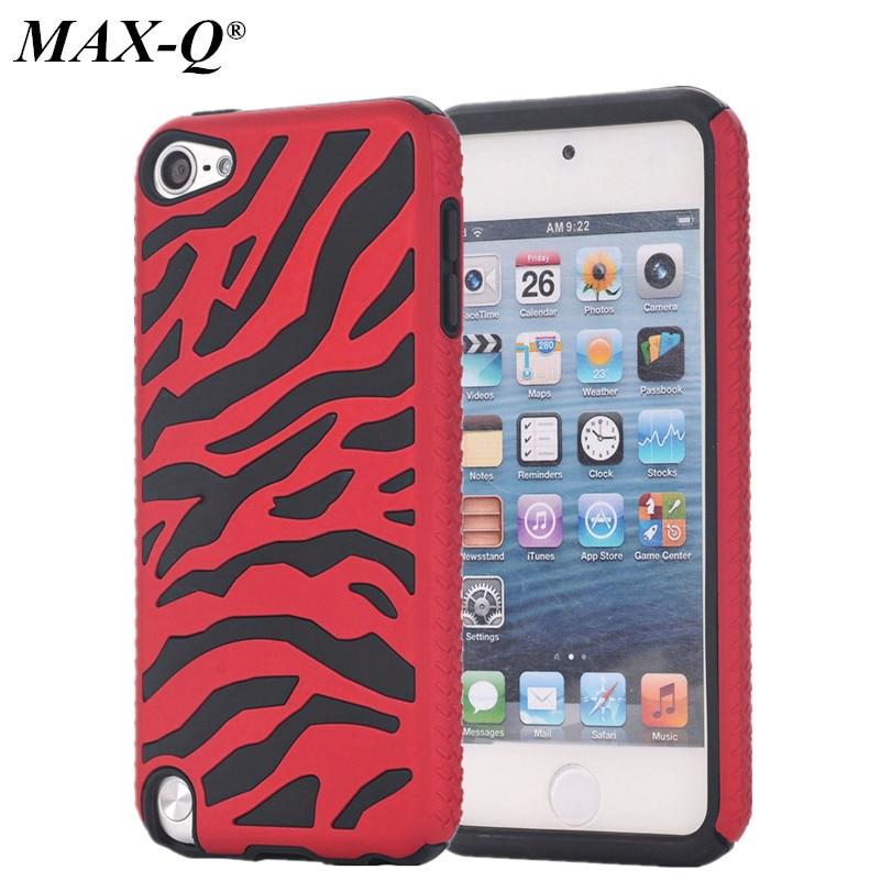 En venta! max-q fresco de lujo case para el ipod touch 5 5g 5to generación gen t