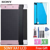 "5.0"" Original Display For SONY Xperia XA1 LCD Touch Screen with Frame LCD for SONY XPERIA XA1 Display G3112 G3116 G3121"