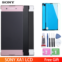 5.0 Original Display For SONY Xperia XA1 LCD Touch Screen with Frame LCD for SONY XPERIA XA1 Display G3112 G3116 G3121
