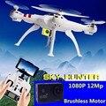 Profissional Brushless Quadcopter Drone RC Helicóptero Drones con Cámara HD 12mp vs upair cg035 xiaomi mi drone x8 x8c x8g X8W