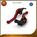 For YAMAHA FZ6 FZ6R FZ6FAZER FAZER RED BLACK BLUE NEW STYLE MOTOR MOTOBIKE Motorcycle Adjustable Short Brake Clutch Levers
