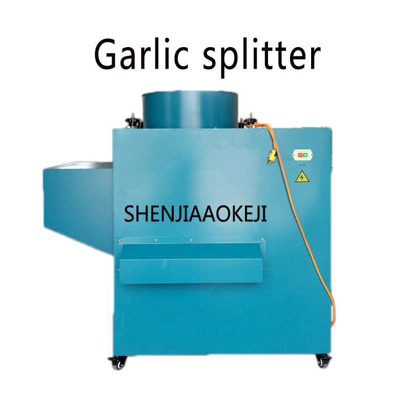 RYF-1000 garlic splitter / garlic splitting machine / Commercial garlic cloves making machine Food processor 220V 1 PC 22kg h capacity electric garlic peeler automatic garlic peeling machines garlic processing machine