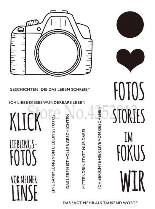 เยอรมันใสซิลิโคนสำหรับ DIY Scrapbooking/การ์ดทำ/เด็กคริสต์มาสสนุกอุปกรณ์ตกแต่ง A1283