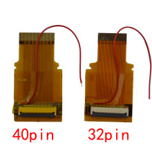 10pcs for GBA Ribbon Cable 32pin 40 Pin AGS 101 Backlit Adapter Screen Mod with cable(China)