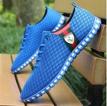 Mens  shoes casual 2018 spring summer low to help foreign trade wholesale Korean version mesh breathable