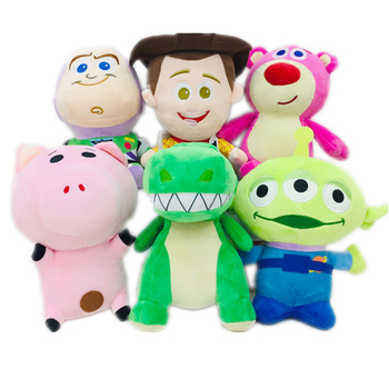 Disney Toy Story 4 toys Pixar Plush Woody Buzz Lightyear Forky Strawberry bear Alien toy story Model Toys For Children Gift цена 2017