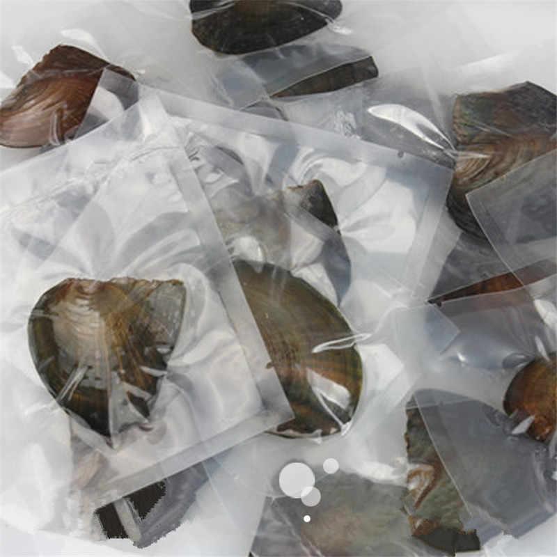 1 でカキ真珠。真空包装の天然淡水真珠 DIY ネックレスペンダントリングイヤリング原料