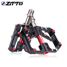 ZTTO pedales bicicleta mtb Mountain Road CNC Bike Part Cycling AL Alloy Hollow 6 Bearings pedals bike